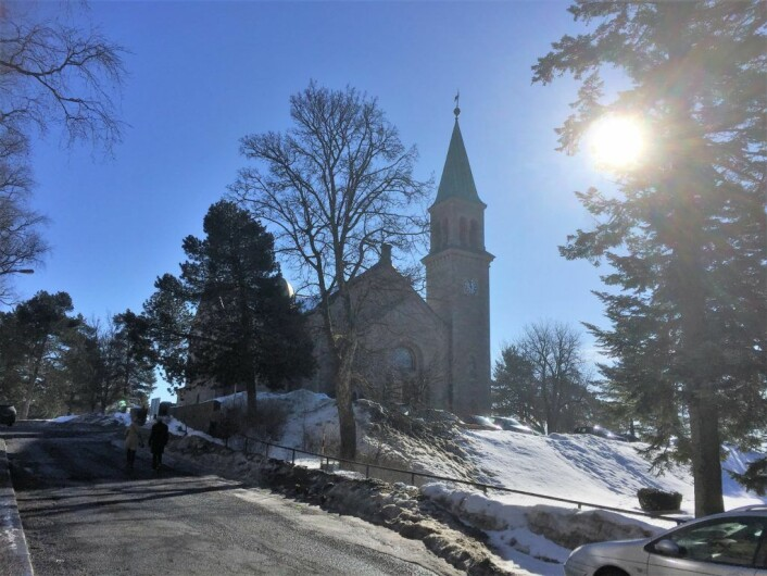 Grorud kirke. Foto: Kjersti Opstad