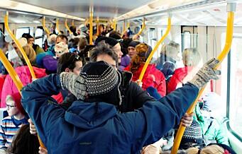 All busstrafikk i Oslo lammes hvis det blir streik. Trikk og t-bane blir overfylt