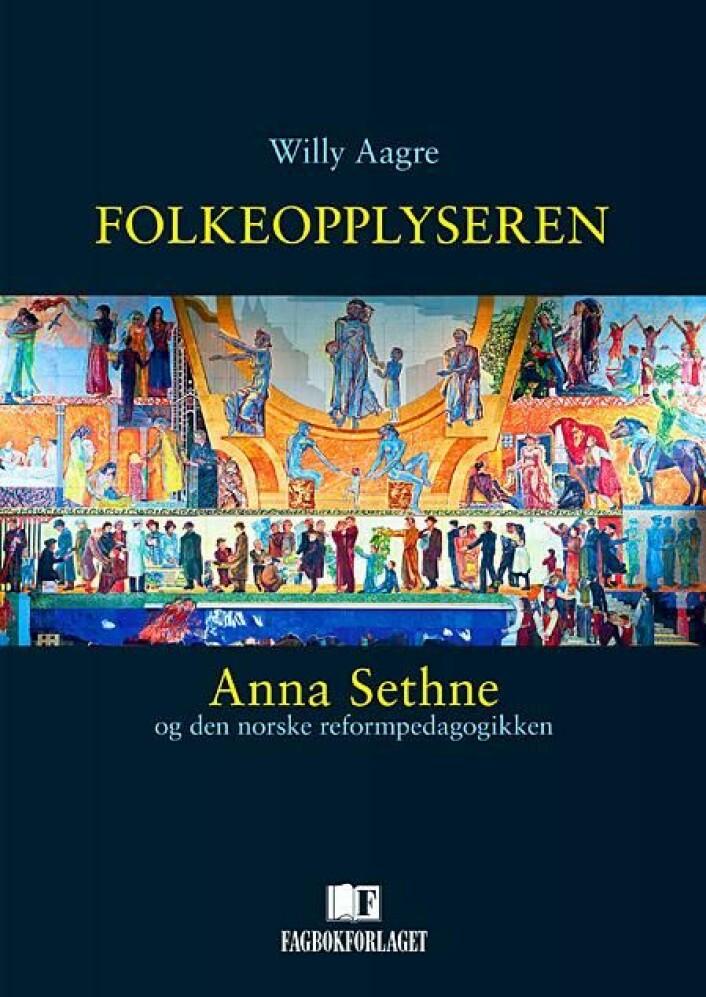 Professor Willy Aagre har skrevet boken om folkeopplyseren Anna Sethne. Foto: Fagbokforlaget