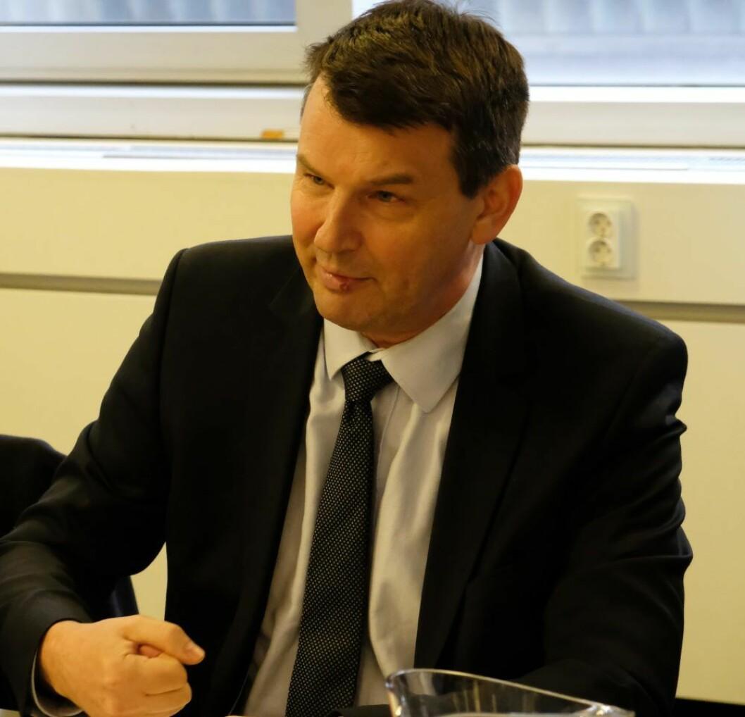 Justis- og beredskapsminister Tor Mikkel Wara (Frp). Foto: Christian Boger