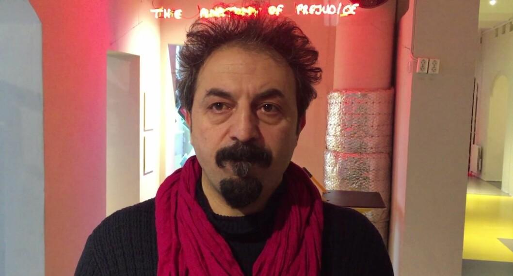 Gazi Øzcan. Skjermbilde fra video av Thea Leivestad