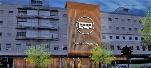 Startsignalet for ansiktsløftingen av Oslo bussterminal er nå gått
