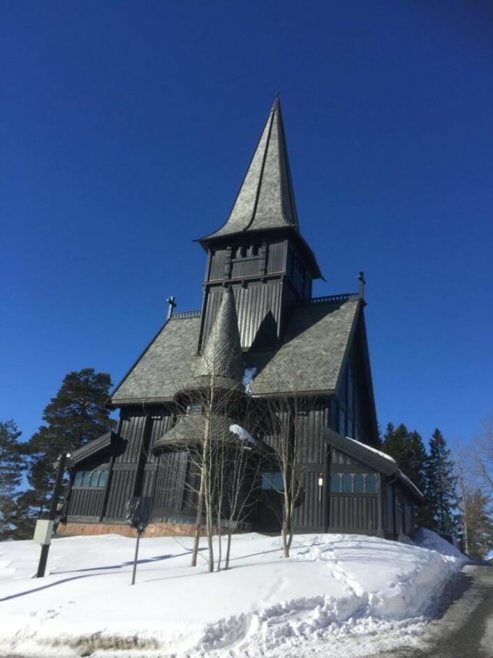 Det er som et eventyrslott, Holmenkollen Kapell. Foto: Kjersti Opstad