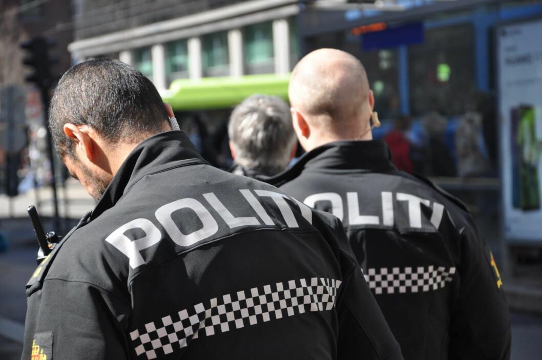 Politiet beklager at de ieek kan være mer til stede i Urtegata. Foto: Arnsten Linstad