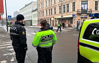 – I mars skjedde det som ikke skal skje, en femåring ble påkjørt her i Strømsveien. Ikke hvilken som helst femåring, denne gangen var det MIN femåring