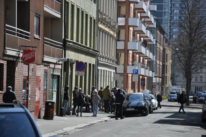 � Flere heroinbrukere har flyttet seg fra Brugata og bort til Urtegata, sier Arild Knutsen i Foreningen for human narkotikapolitikk. Foto: Arnsten Linstad