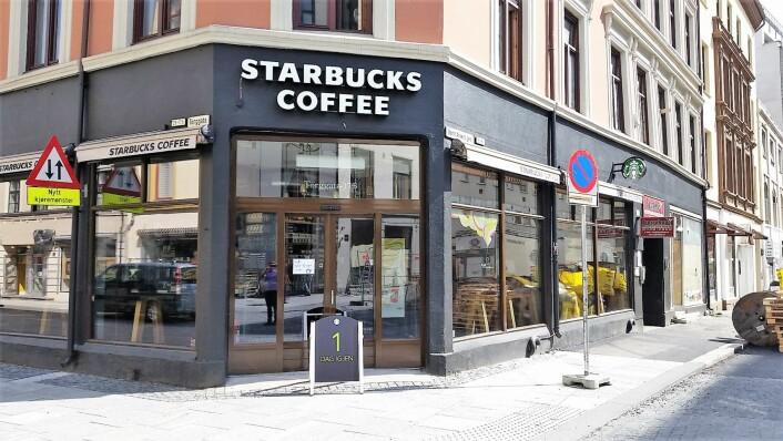 Starbucks i Torggata fungerte som et trekkplaster på en rekke andre butikker og utesteder. Foto: Mynewsdesk