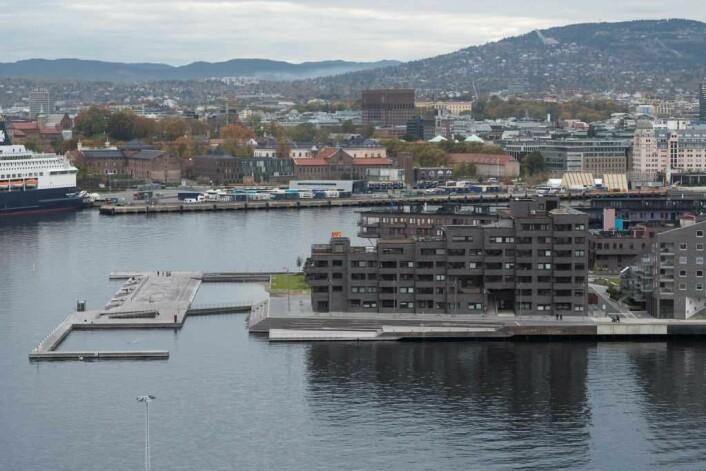 Utbyggingen på Sørenga startet i 2009, og var ferdig i 2017 Foto: Annar Bjørgli