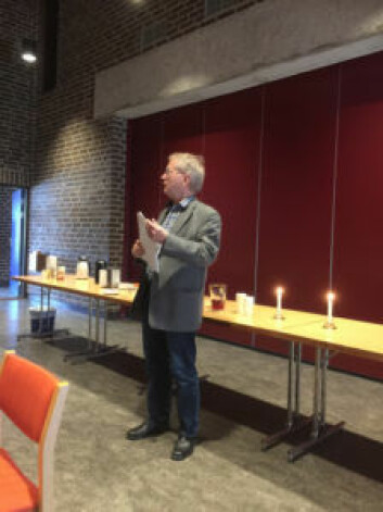 Menighetsrådsleder Kjell Olav Sannes. Foto: Kjersti Opstad