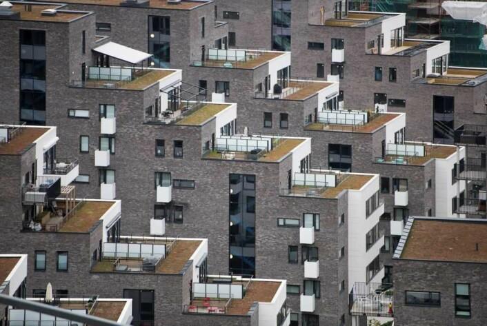 Fra Kværnerdalen, et boligprosjekt påbegynt i 2006, og planlagt ferdig i 2020. Foto: Annar Bjørgli
