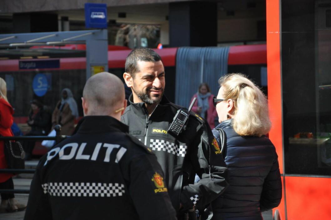 � Politiet må være tilstede der ungdom er. Det må skapes tillit for å demme opp ungdoms- og gjengkriminalitet, skriver Espen Ophaug (V) før debatten i Oslo bystyre onsdag. Foto: Arnsten Linstad