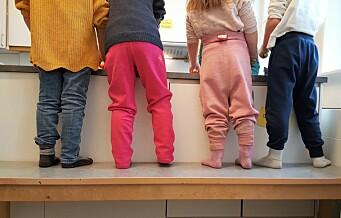 – Barna gjør litt mindre av seg selv hver dag, de resignerer. Vi ansatte i barnehagen kan ikke, ser ikke, lover og lyver i deres øyne