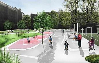 Rudolf Nilsens plass på Tøyen skal moderniseres. Naboene er med i planleggingen