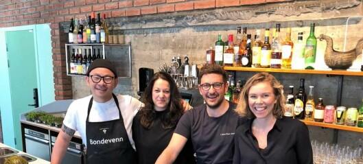 I Bondelagets gamle hus i Schweigaards gate, åpnet nylig Bruket, en kafé og bar med lokale råvarer