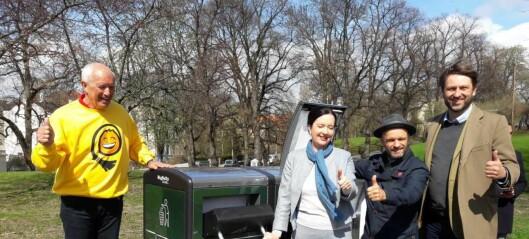 Bydel St. Hanshaugen utplasserer nå Oslos første intelligente avfallscontainere