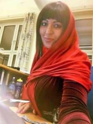 Sara Desantiago håper hennes livshistorie kan hjelpe andre skeive muslimer. Foto: Privat