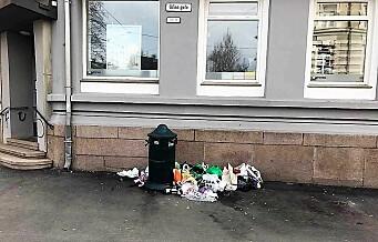 – Jeg skjemmes over Oslo. Byen min har blitt en søppelby