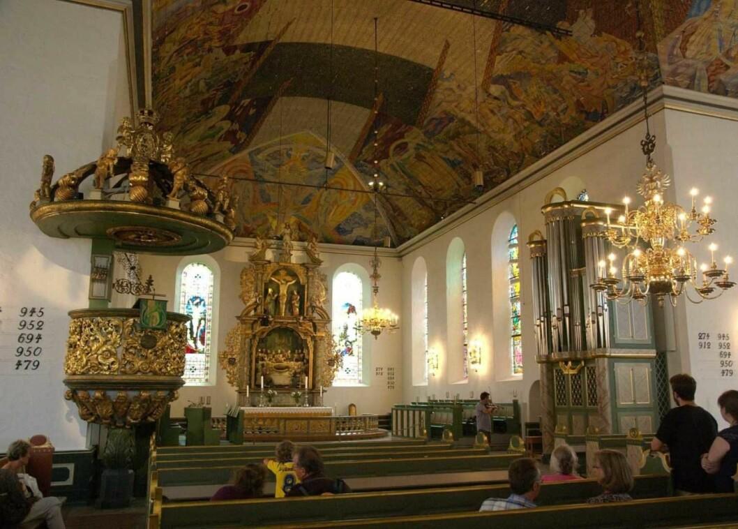Kristne arbeidere holdt gudstjeneste 1. mai i Oslo domkirke. Foto: Wikimedia commons