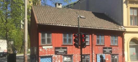 Nå skal det lille, røde huset i Grønlandsleiret 28 få nytt liv