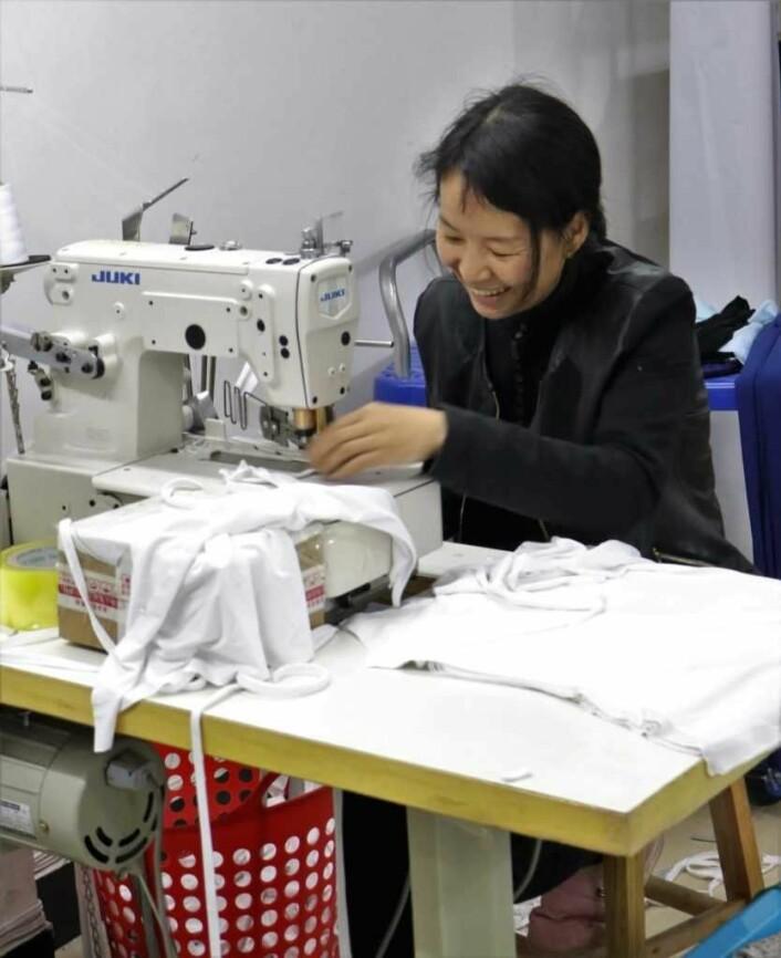 Kinesiske arbeidere jobber opptil 90 timer i uka. Foto: Fair & Square