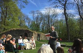 Kristi himmelfartsdag i klosterruinene på Hovedøya