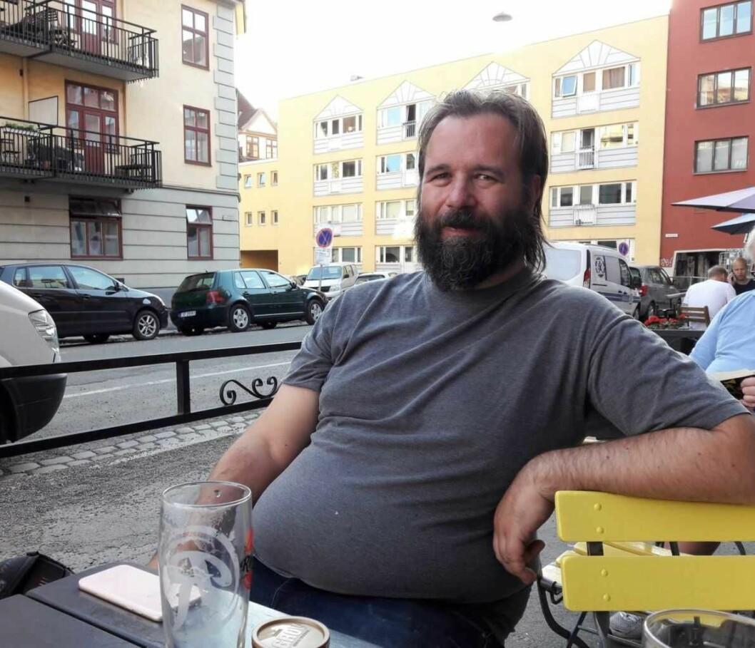 Jimmy Cedervall setter stor pris på kulturtilbudet i bydel Sagene. Foto: Anders Høilund
