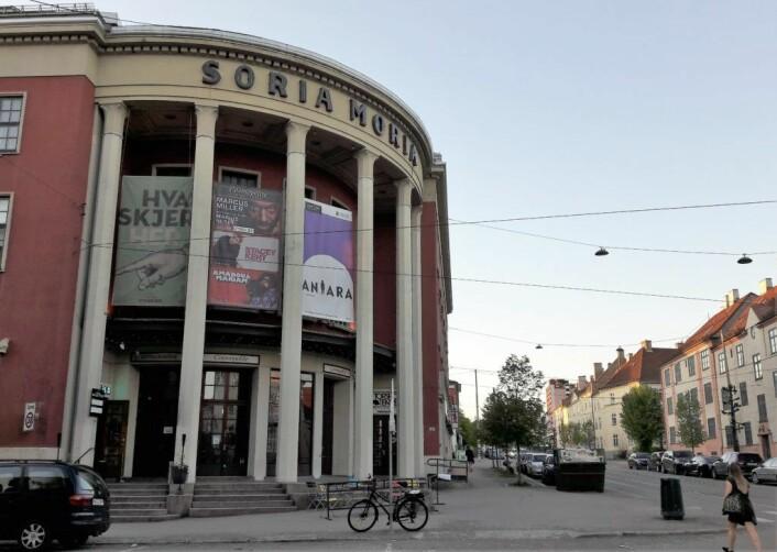Soria Moria med sin kjente fasade ut mot Vogts gate. Foto: Anders Høilund