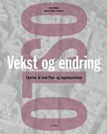 Boka Oslo - Vekst og endring. llustrasjon: Press forlag