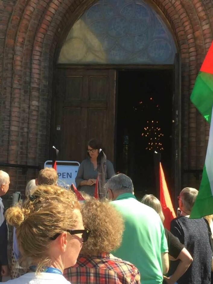 Generalsekretær for mellomkirkelig råd, Berit Hagen Agøy, er nettopp tilbake fra en reise i Palestina. Foto: Kjersti Opstad