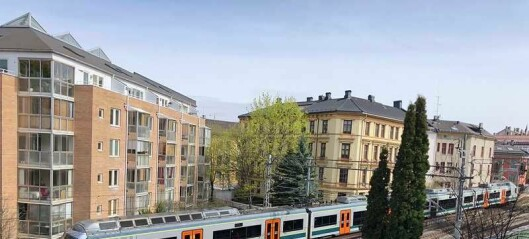 Beboere i Gamlebyen klager på togstøy, men avvises av Bane Nor