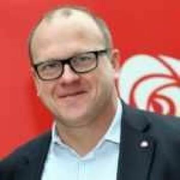 Aps gruppeleder i bystyret, Frode Jacobsen. Foto: Oslo Ap
