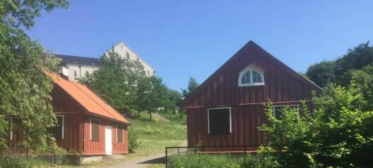 Gladmelding til brukene av Caltexløkka: Det blir klubbhus og garderober i de gamle portnerboligene