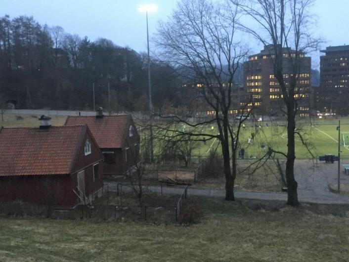 Portnerboligene på Caltexløkka skal endelig rehabiliteres. Foto: Vegard Velle