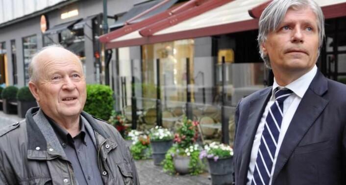 Odd Einar Dørum var Venstres ordførerkandidat i 2011. Ola Elvestuen var gruppeleder i bystyret. Venstre gikk til valg på å opprette en egen kommunal vaktstyrke som etterhvert fikk navnet Oslovaktene. Foto: Arnsten LInstad