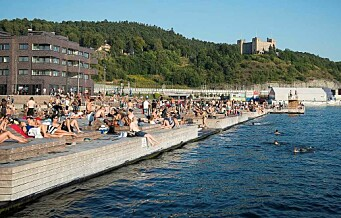 Oljeutslippet fra Alnaelva kan fordampe i løpet av dagen, men sjøbadet på Sørenga forblir stengt