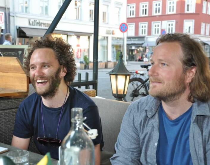 � Dette har vært en opplæring i demokratiske prosesser, sier Eirik Espolin Johnson og Jørgen Horn Gulliksen, som driver karaokestedet Syng. Foto: Arnsten Linstad