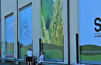 Nye, gigantiske gatekunstverk pryder kornsiloen på Vippetangen