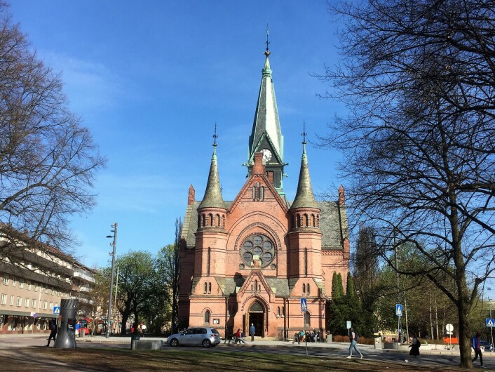 Sagene Kirke er et imponerende byggverk. Foto: Kjersti Opstad
