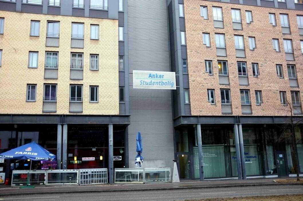 Anker studentbolig er et av stedene studentene vil kjempe om å få bo når de får studieplass. Foto: Kjetil Ree / Wikipedia