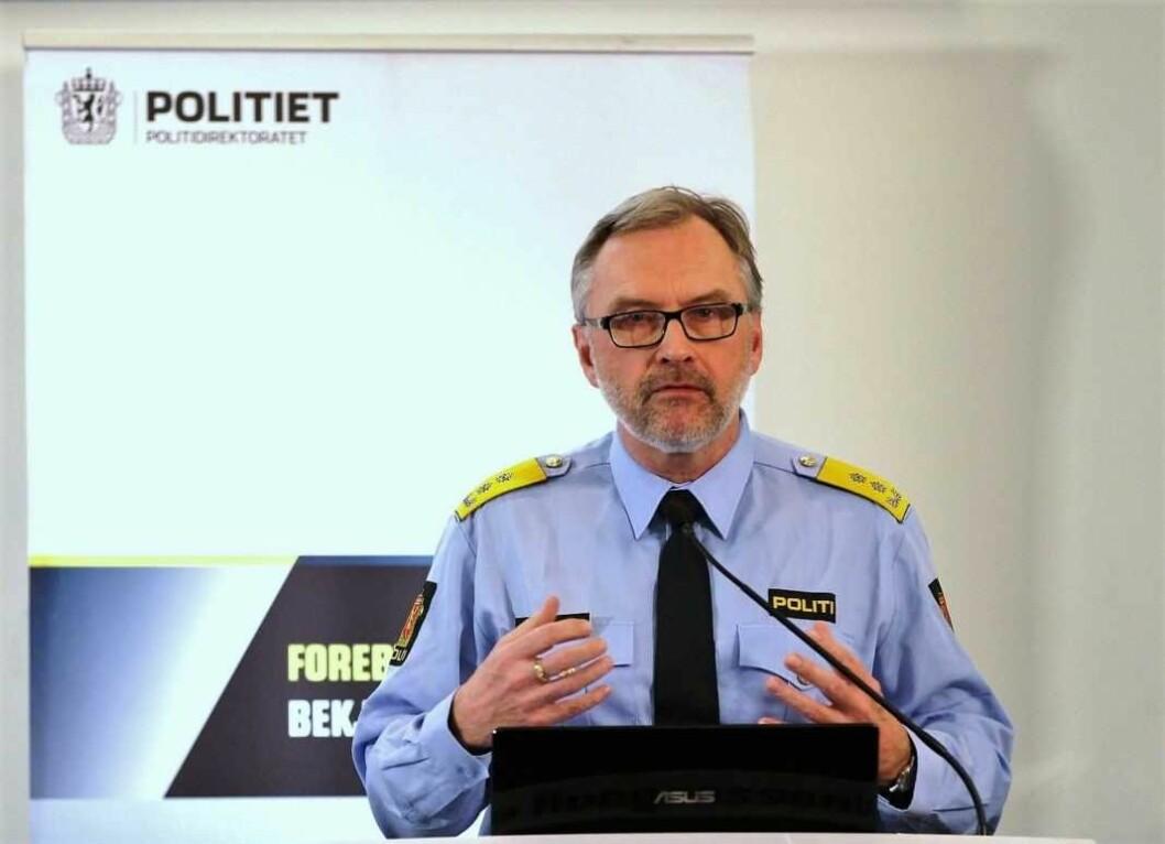 Hans-Sverre-Sjøvold får seks nye år som sjef for Oslo-politiet. Foto: Politidirektoratet / Flickr