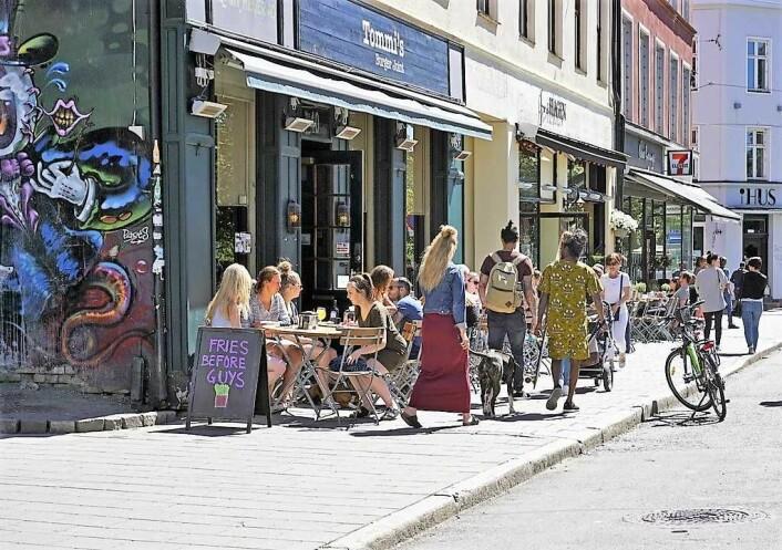 Hva skal til for at oslofolk finner bysentrum attraktivt, spør skribenten. Foto: VisitOslo/Tord Baklund