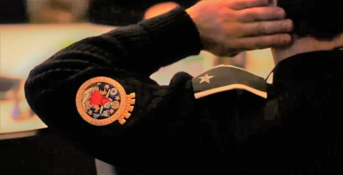 Bybetjentene og parkeringsvaktenes uniform er tydelig merket med Oslo kommunes våpenskjold. Foto: Bymiljøetaten