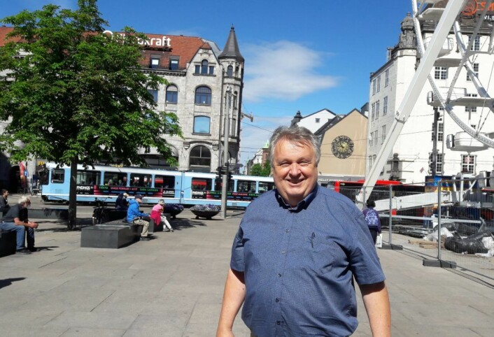 Forfatter Salmund Kyvik har studert smuglermiljøet i Kristiania for 100 år siden. Foto: Anders Høilund