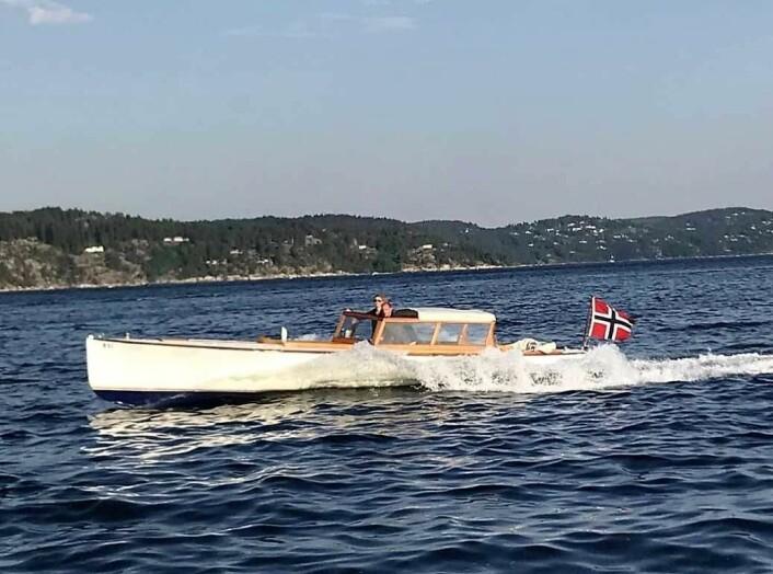 I slike raske og elegante farkoster herjet spritsmuglerne i Oslofjorden. De tøffeste dro helt til tyske Helgoland for å bunkre opp med smuglervarer. Foto: Hege Arnestad