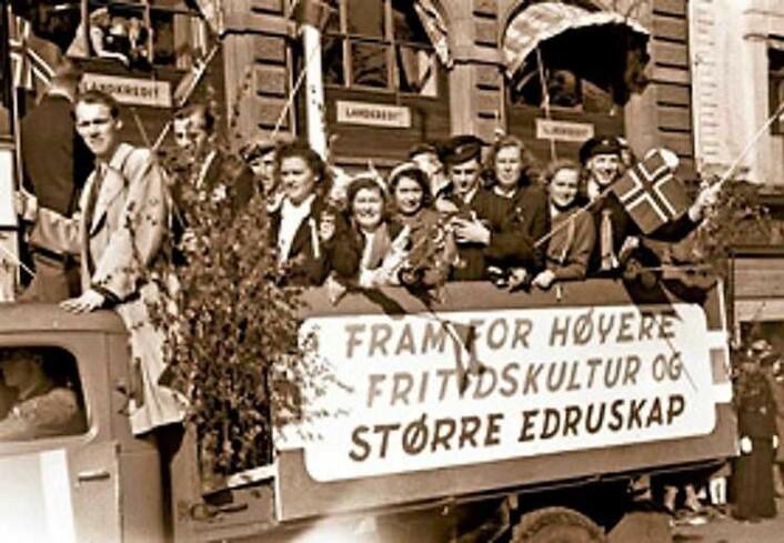 Brennevinsforbudet var et hett politisk tema. Foto: Oslo museum