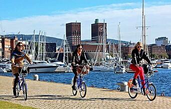 Oslo kåret til en av verdens mest bærekraftige byer