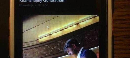 Oslos varaordfører postet snapchat av politisk rival fra ordførerbordet mens han holdt innlegg en meter unna