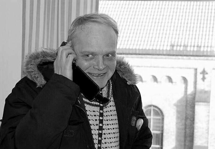 Talsperson Sverre Rusten avviser at det foregår noen stjeling fra styremedlemmene på Fattighuset. Foto: nettansvarlig på Fattighuset