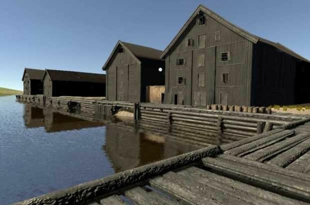 Sadelmagerhullet ble til Salmakerhølet på folkemunne. Her foregikk mye av Bjørvikas handel i 1798. Foto: Mats Jørgensen