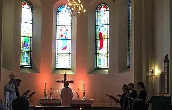 Østkantens katedral kalles den ofte, Grønland Kirke. Og den blir hverken spytta på eller forsøkt brent